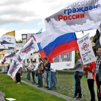 Прошел пикет против вступления России в ВТО